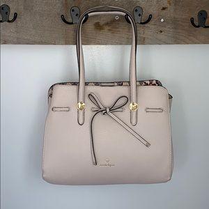 Nanette Lepore Cream Shoulder Bag